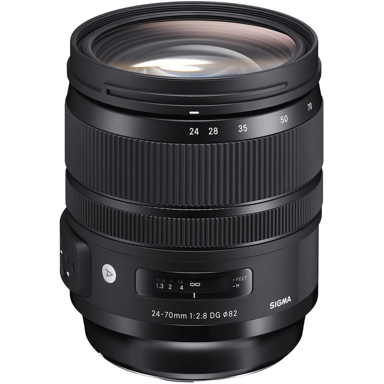 Sigma 24-70mm F2,8 A DG OS HSM Canon